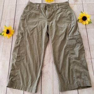 Columbia Cargo Pants Women Capri Size 2